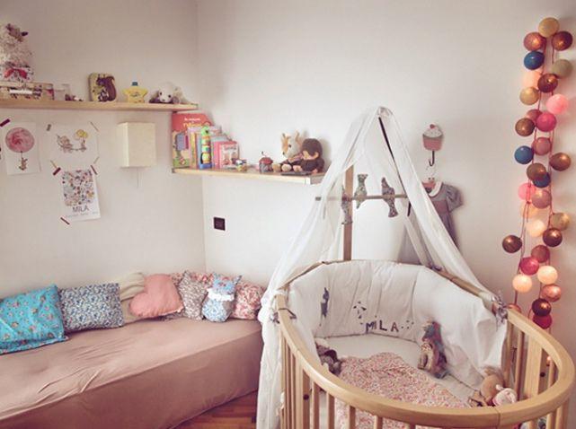 Chambre de bébé : 25 idées pour une fille - Elle Décoration ...