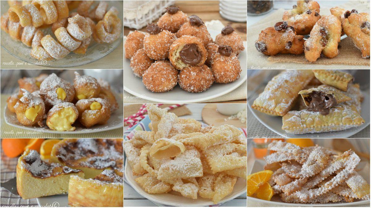 50 dolci di carnevale facili i migliori fritti o al forno for Dolci ricette facili