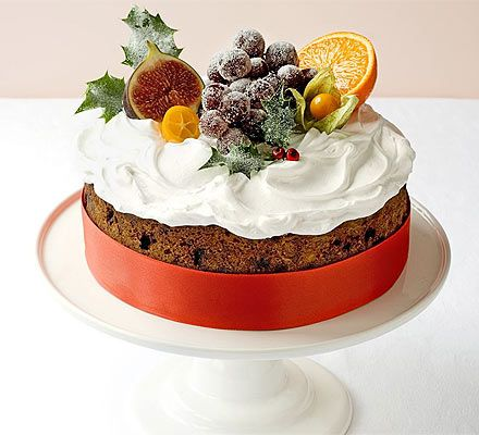 Classic Winter Fruitcake Recipe Easy Cake Decorating Bbc Good