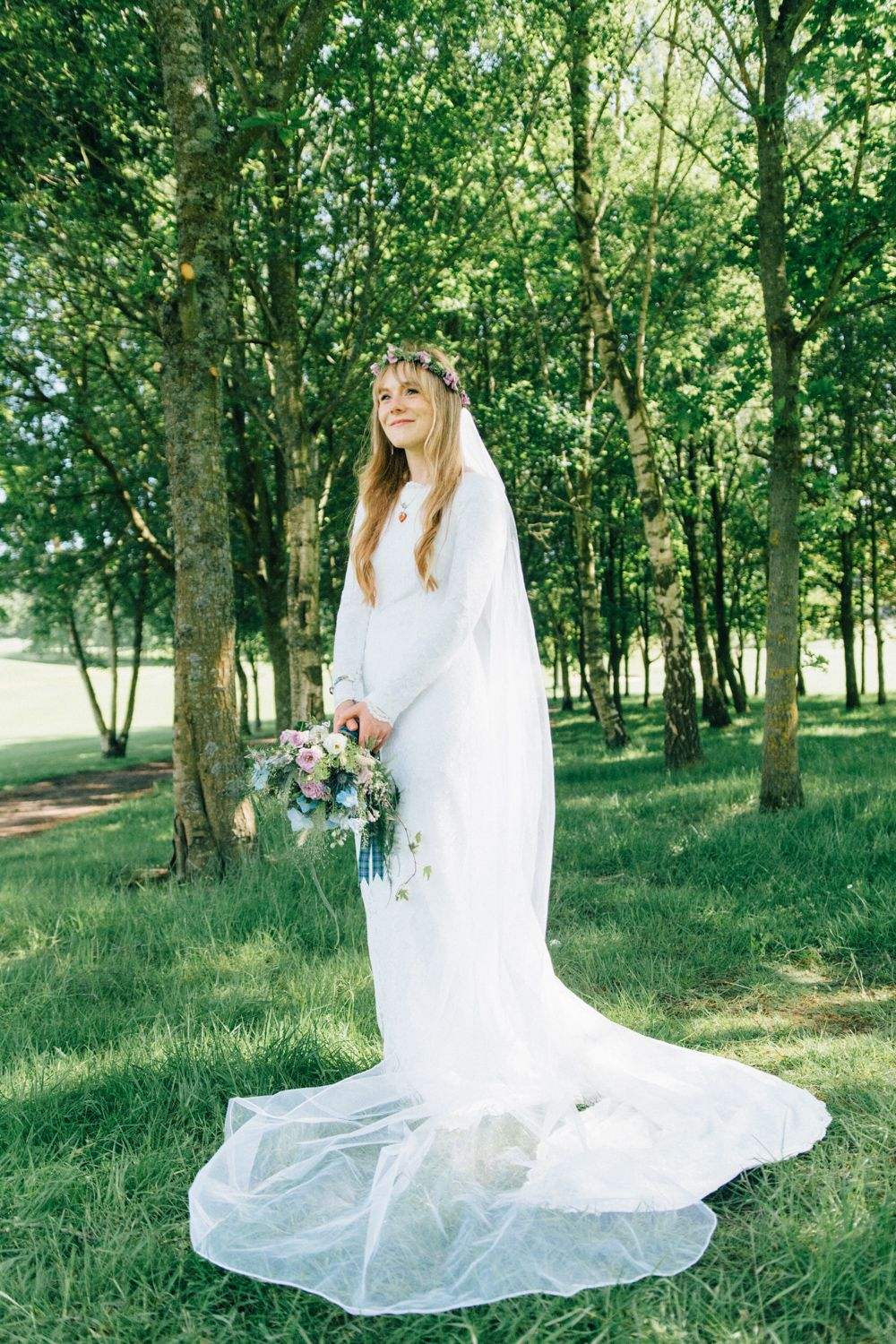 Westerham golf club wedding us bohemian hippie u folk inspired