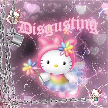 ⛓| Hello kitty (not my image) on We Heart It