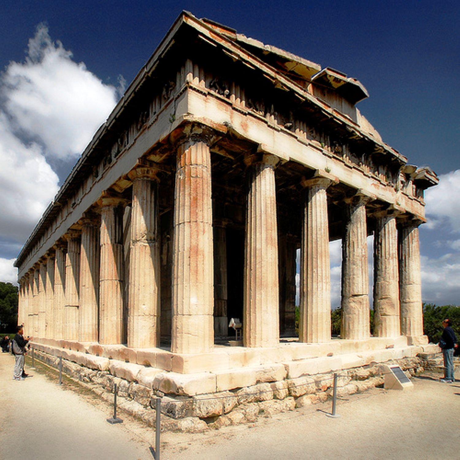 The parthenon the epitome of the doric order - The Temple Of Hephaestus In Athens Ancient Agora