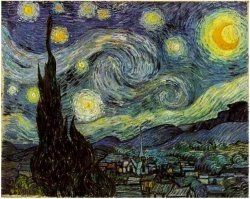 I often think that the night is more alive and more richly colored than the day.  •  Vincent Van Gogh, Nuit Étoilée