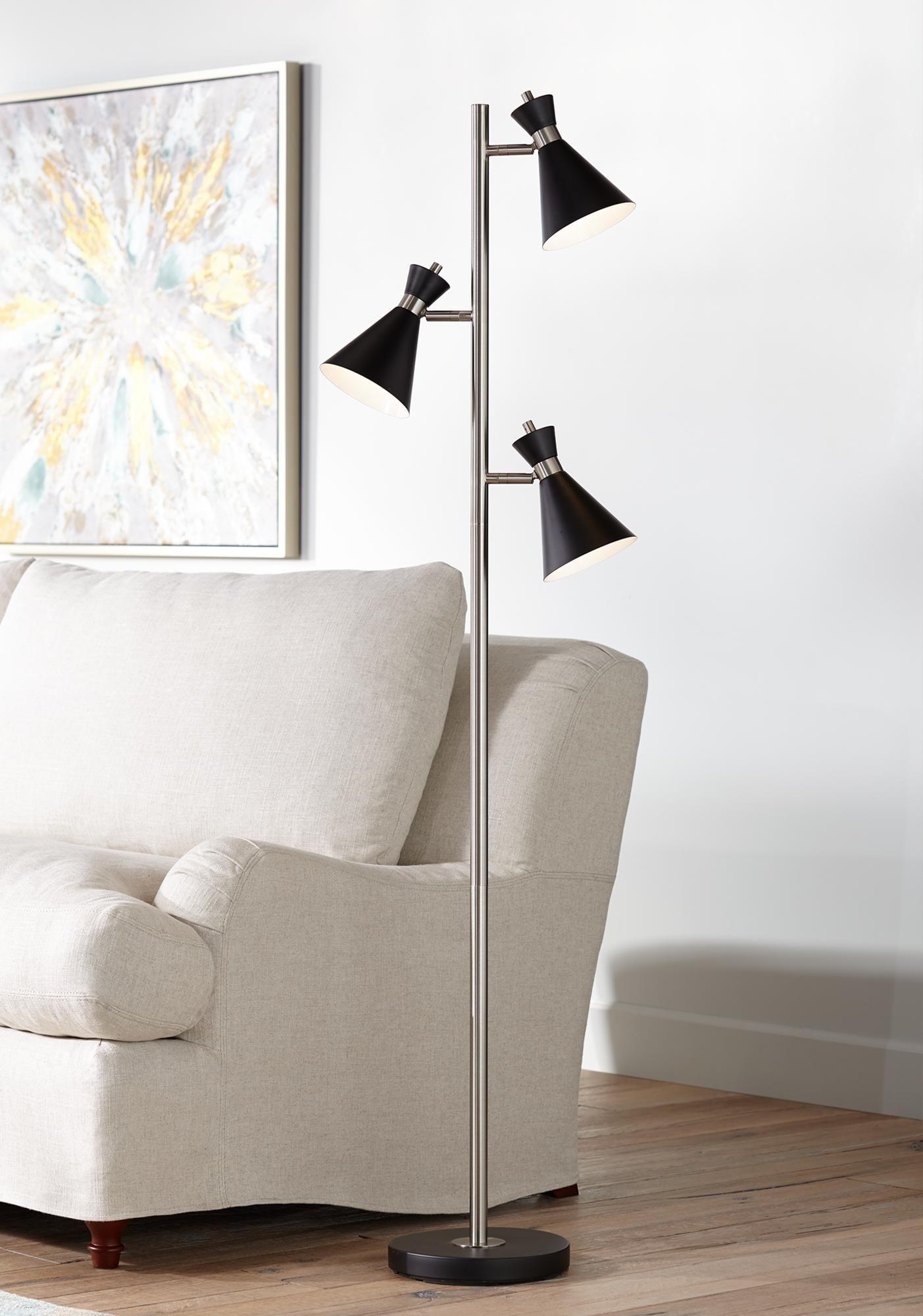 Donovan Led 3 Light Tree Floor Lamp In 2020 Tree Floor Lamp Modern Floor Lamps Floor Lamp