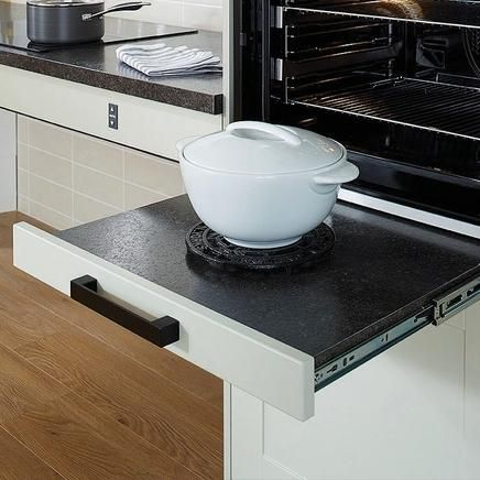 Pull-Out Worktop Runners: Howdens