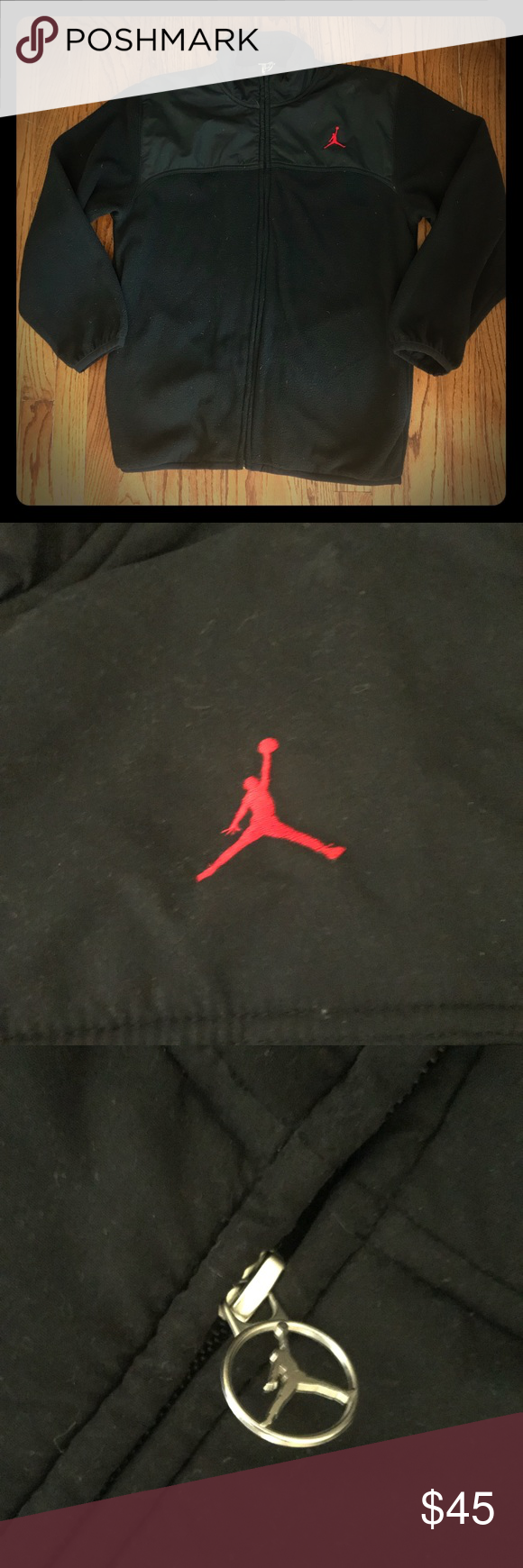 cfaac8fca74b Nike Jordan Jumpman Fleece Jacket Sz L