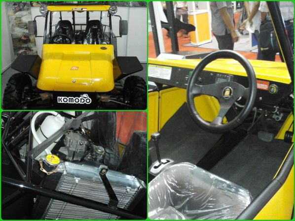Mobil Off Road Komodo Asli Produksi Anak Bangsa Hadir Di Pos 2014 Otobeken Mobil Off Road Komodo Mobil