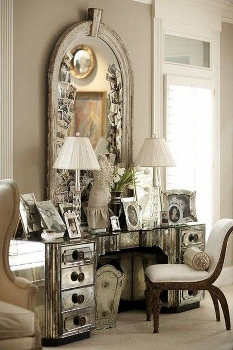 Delightful Old Hollywood Glamour Bedroom Decor