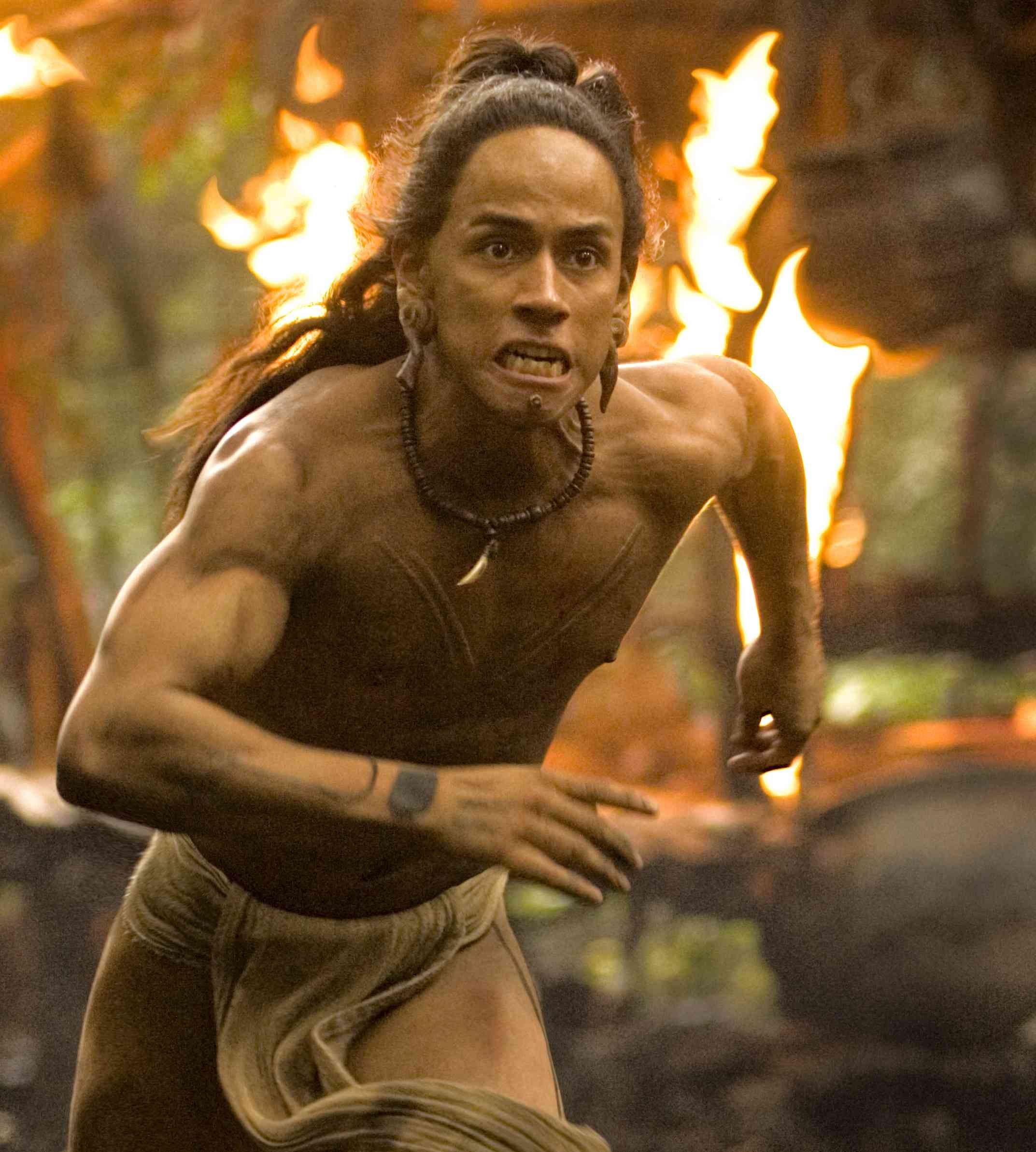 Apocalypto Mayans End Of The World Incredible Chase Movie Rudy Youngblood Mel Gibson Action Movies