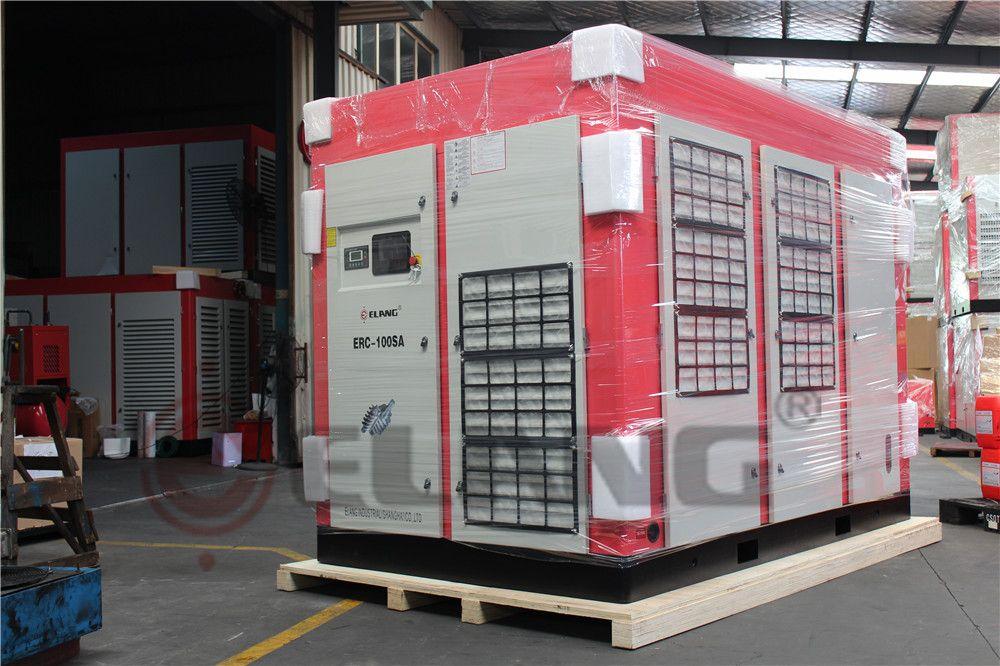 hot sale Low pressure 100HP air compressor heat recovery