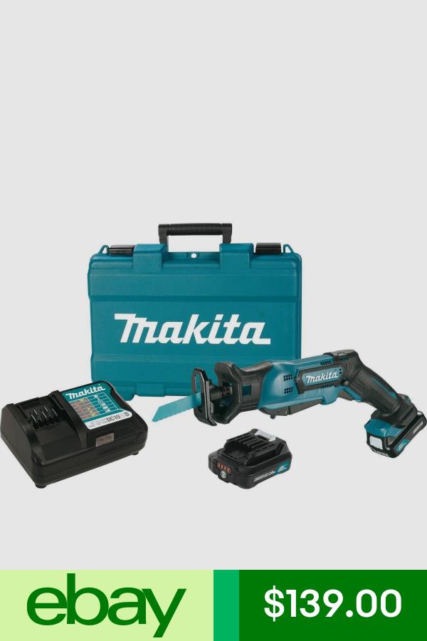 Makita Rj03r1 12 Volt 2 0ah Max Cxt Lithium Ion Cordless Reciprocating Saw Kit Cordless Reciprocating Saw Makita Saw Saw Accessories