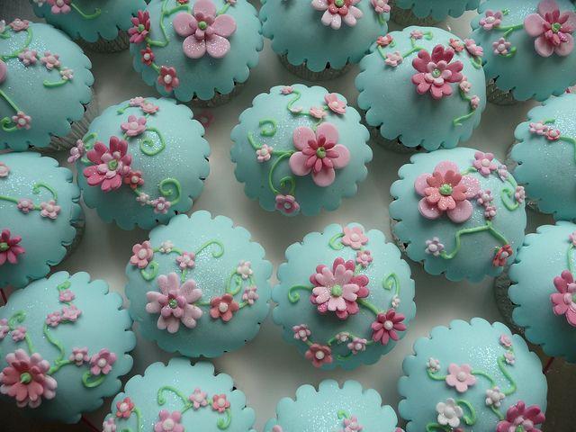 Decorazioni Torte Cinesi : Prettiness in turquise and pink bomboniere dolci torte e