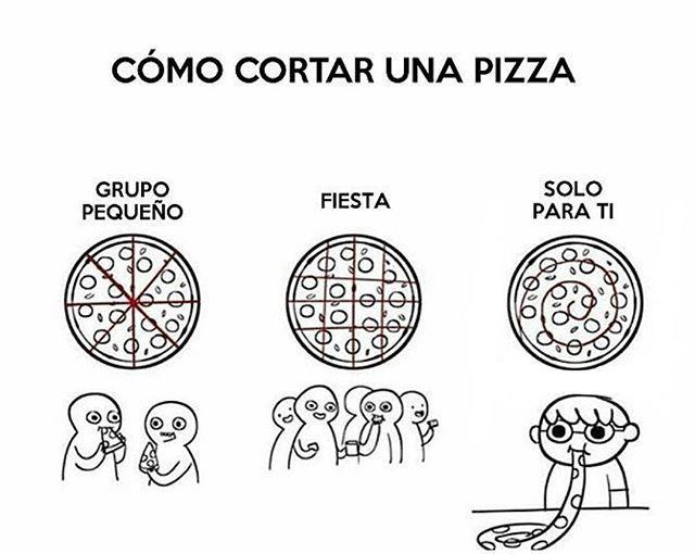 ¿Cómo cortar una #pizza? #mpelovers  #lovepizza #pizzalovers  #eatpizza #food #italianfood #maracaibo #venezuela