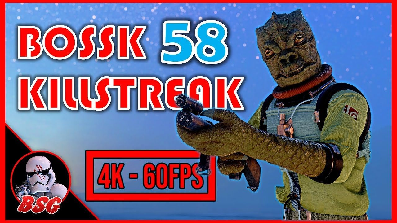 Bossk Domination On Tatooine (PC) | 4K 60FPS Battlefront 2 Gameplay