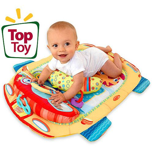 Bright Starts Tummy Cruiser Prop And Play Mat Cheap Toddler Toys Baby Play Baby Play Mat