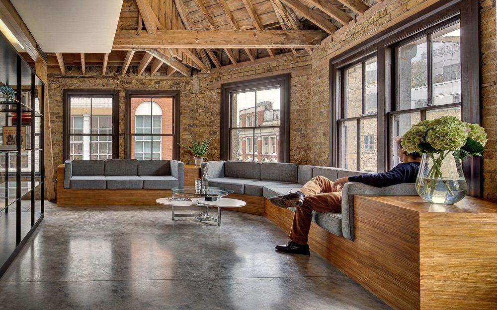 Industrial Office Interior Design   Google Search