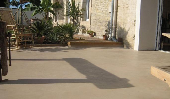 sublimer votre terrasse et votre jardin en 2019 beton cire exterieur terrasse beton cire