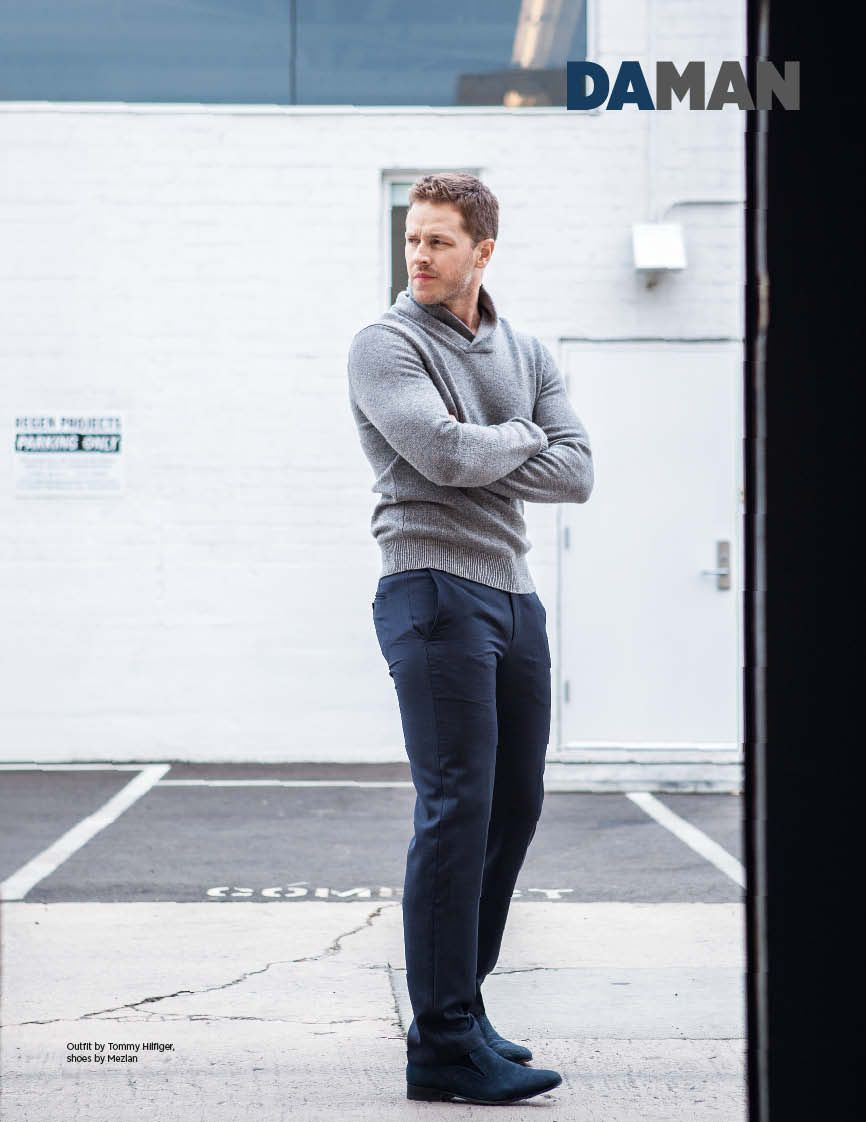 josh dallas height
