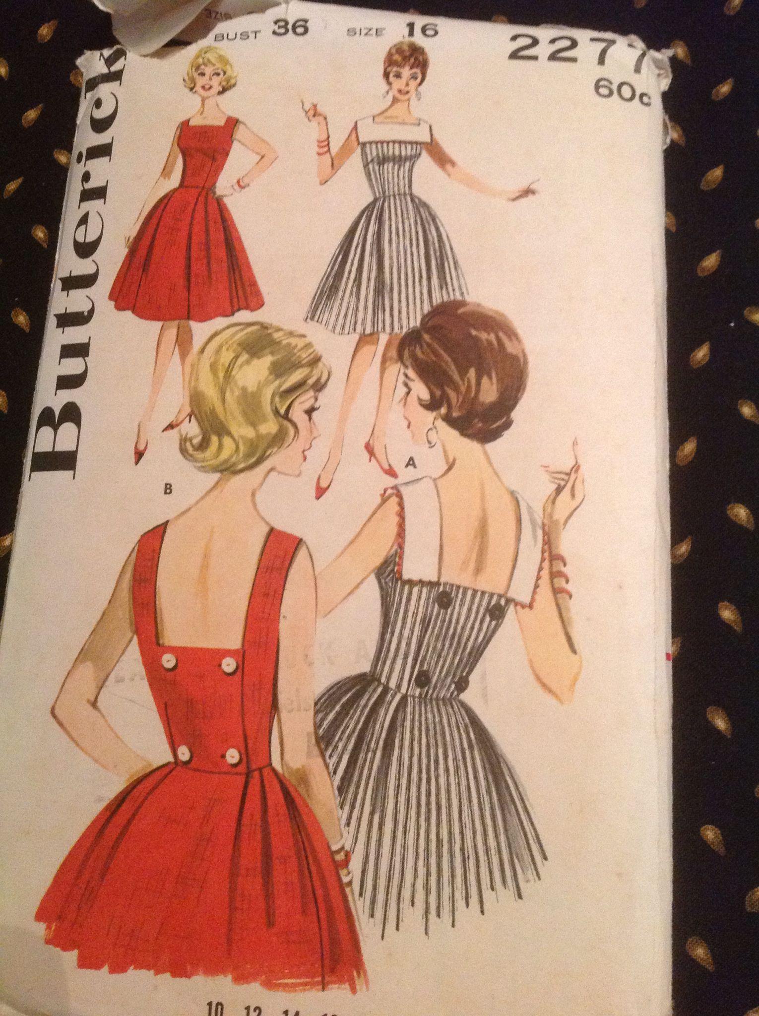 Pin von Christine Presnell auf Vintage Sewing Patterns | Pinterest