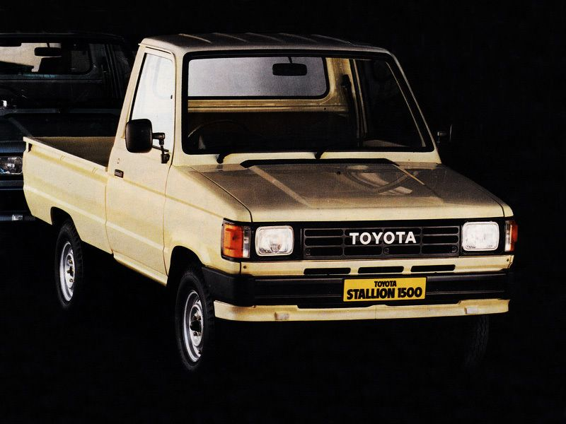 Toyota Stallion 1500 Toyota Toyota Motors Camry