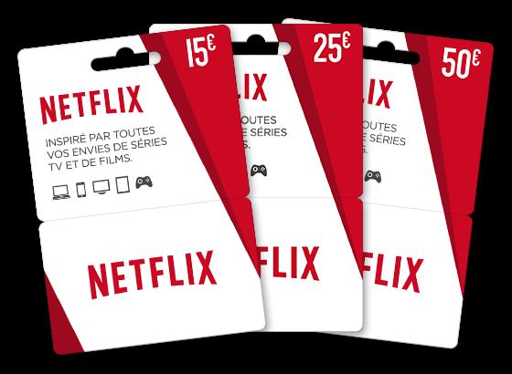Netflix Sort Des Cartes Prépayées Netflix Gift Card Codes