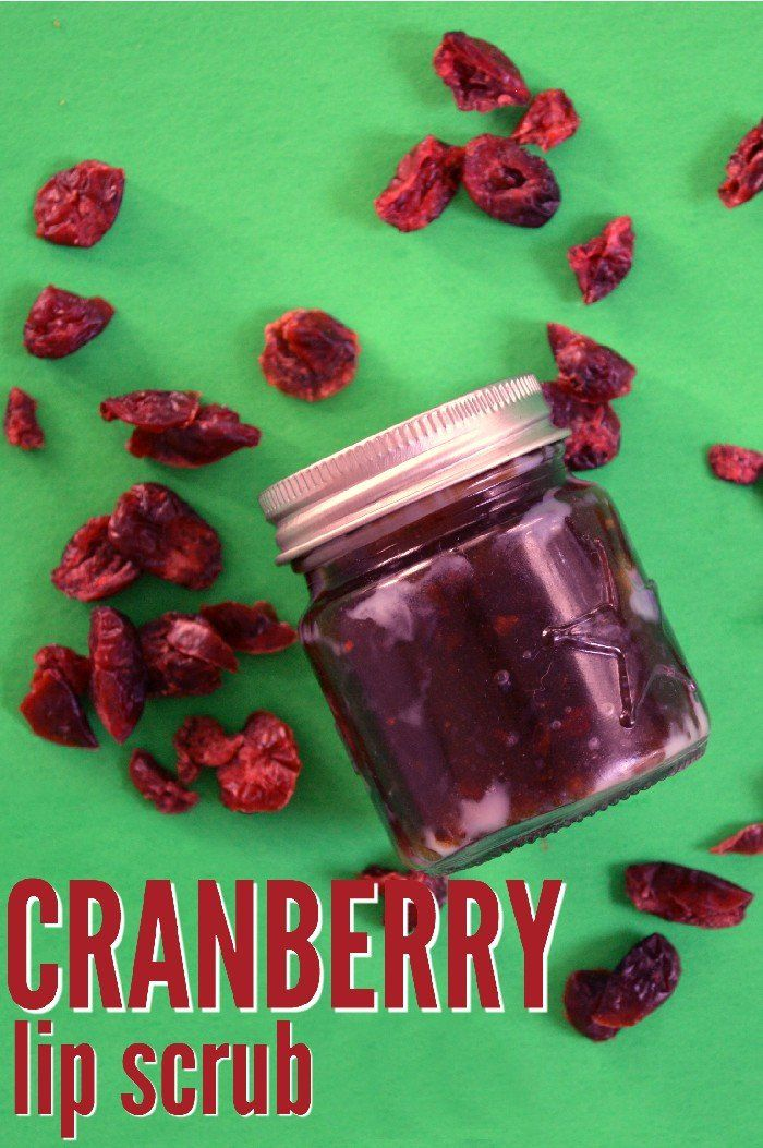 CRANBERRY LIP SCRUB HOSTESS GIFT IDEA Lip scrub