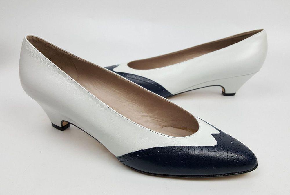 VTG womens shoes sz 10 Van Eli low-heel