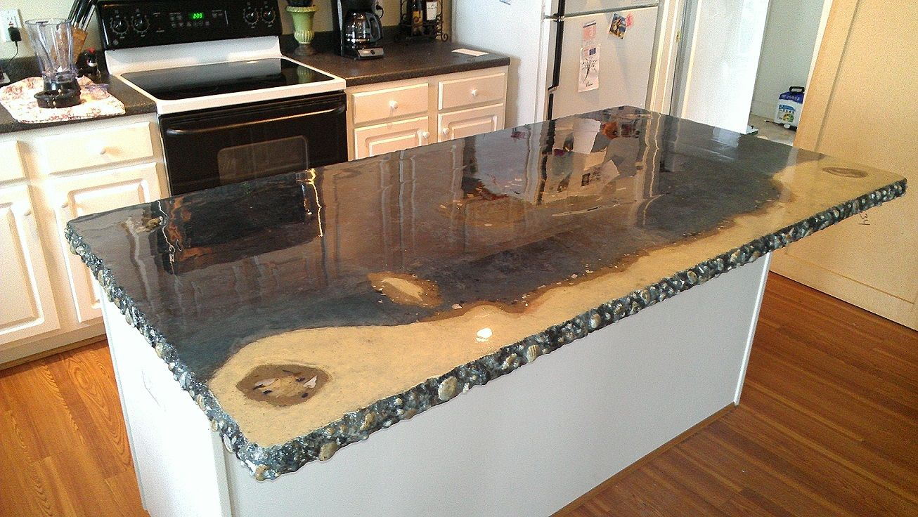 Diy Concrete Countertops Kits Concrete Countertop Resurfacing