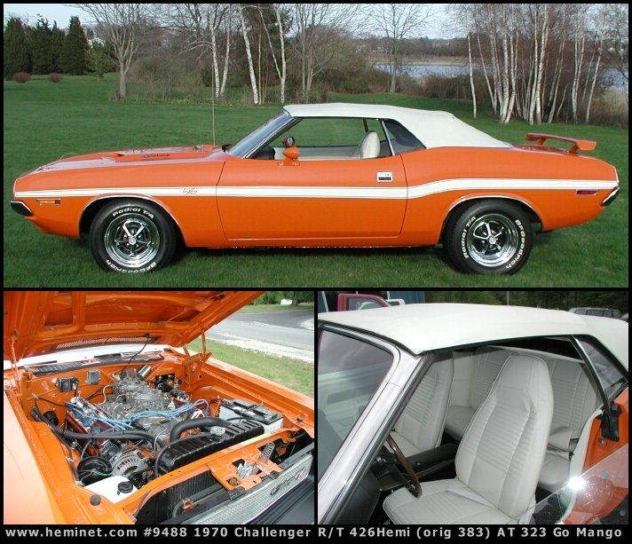Dodge Muscle Cars, Challenger Rt