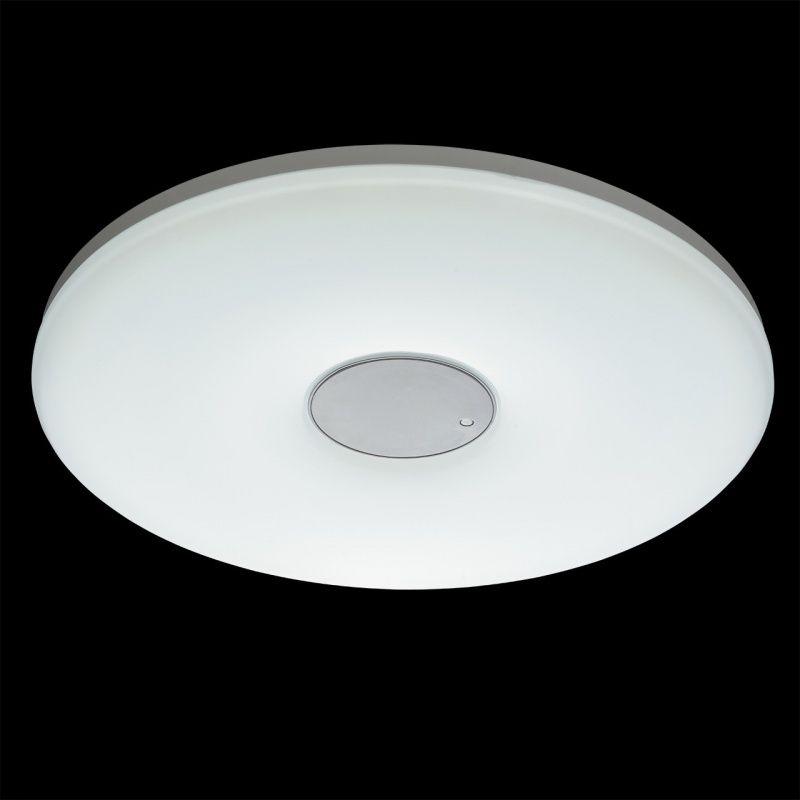 Moderne weiße LED Deckenleuchte 1 flammig RegenBogen 660011101 - led deckenleuchte badezimmer