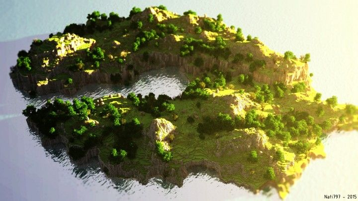 Cliff side world painter minecraft project minecraft terrains cliff side world painter minecraft project sciox Image collections