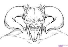 Dibujos De Terror Para Colorear Buscar Con Google Dibujos De Terror Dibujos Diablos Dibujo