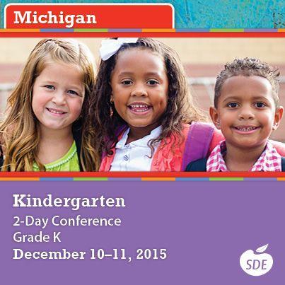 Register Now For Sdes Conference For Michigan Kindergarten Teachers