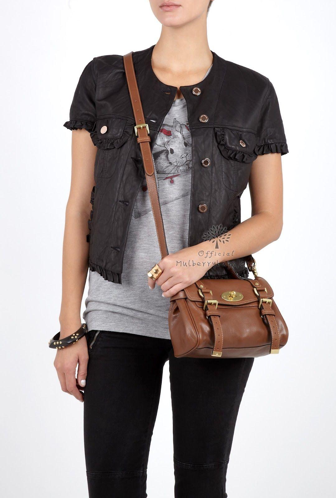 d992e927cc Mulberry Mini Alexa | Bags in 2019 | Mulberry bag, Fashion, Fashion ...