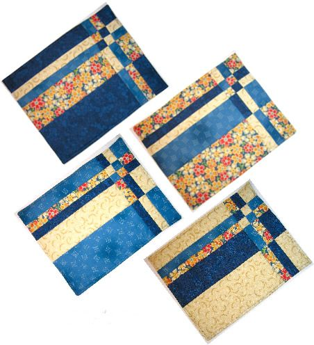 Take Four Placemats By Flanagan Cary Pw Prostrky Mal