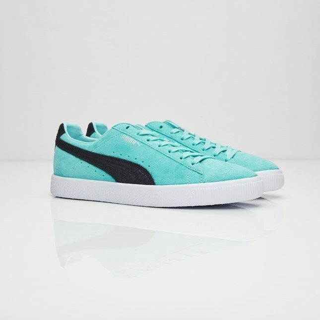 c92dafaeb96e39 Puma x Diamond Supply Co Clyde Aruba Blue Sneaker Men Shoes 363501 ...