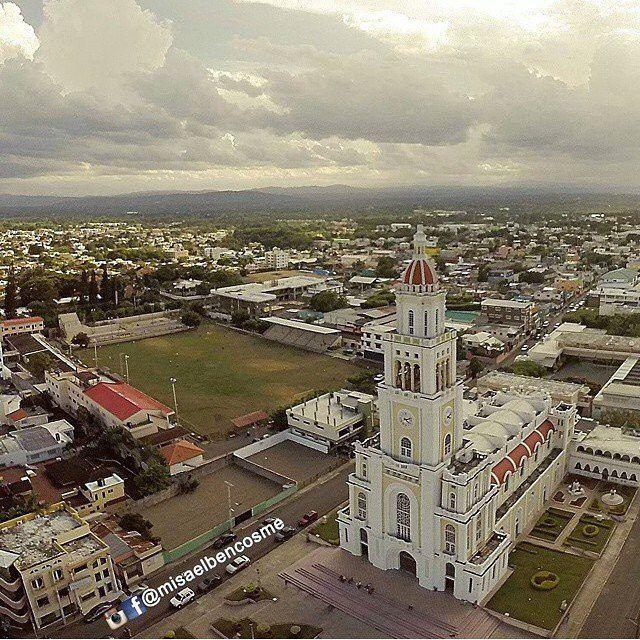 Iglesia Sagrado Corazón De Jesús Moca R D Dominican Republic City Big Ben