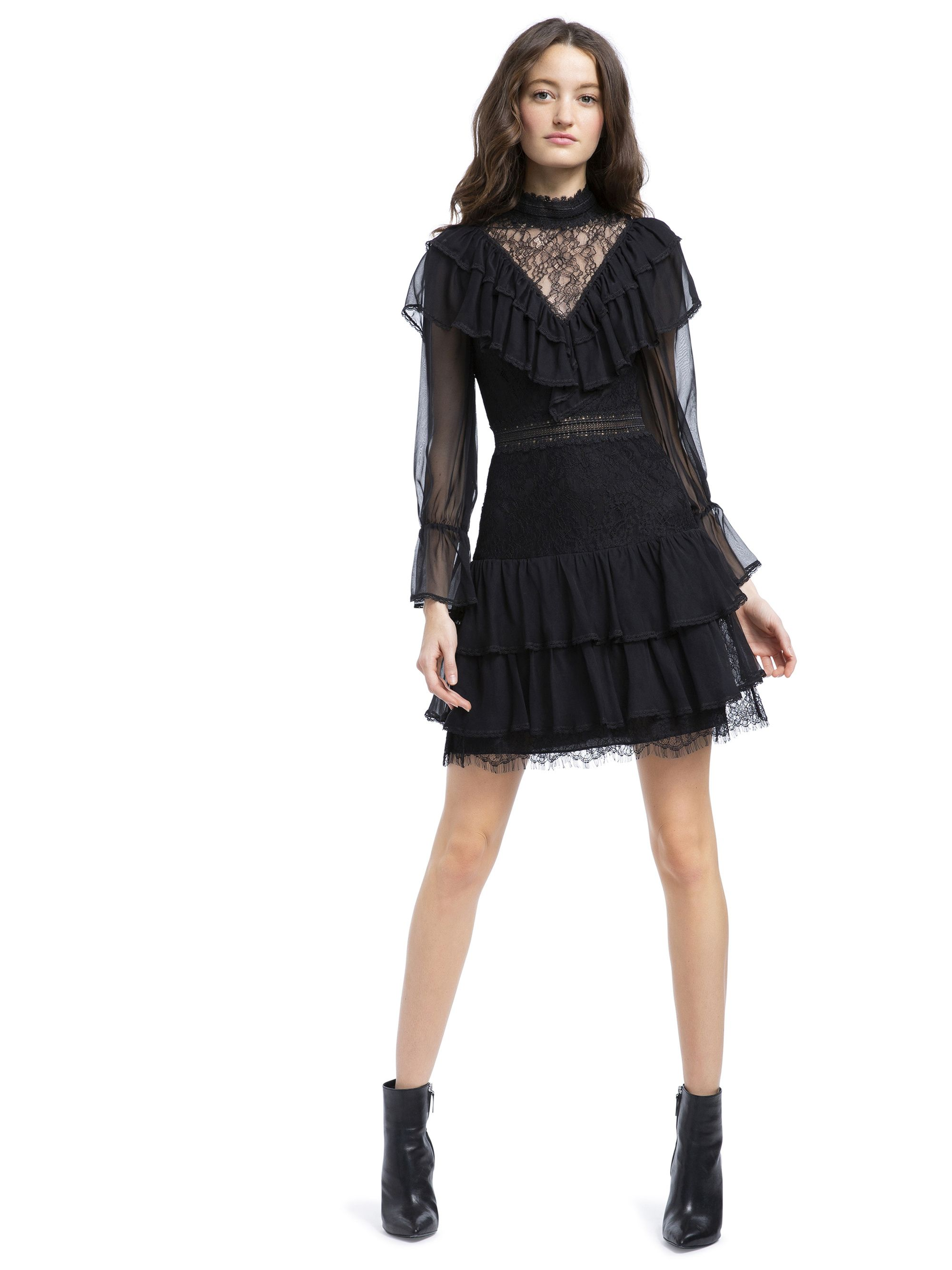 64af77ac8 Clea tiered mini dress