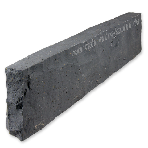 Basalt Kantensteine Randsteine 100 X 25 X 8 Cm Gespalten Randsteine Kantensteine Steine
