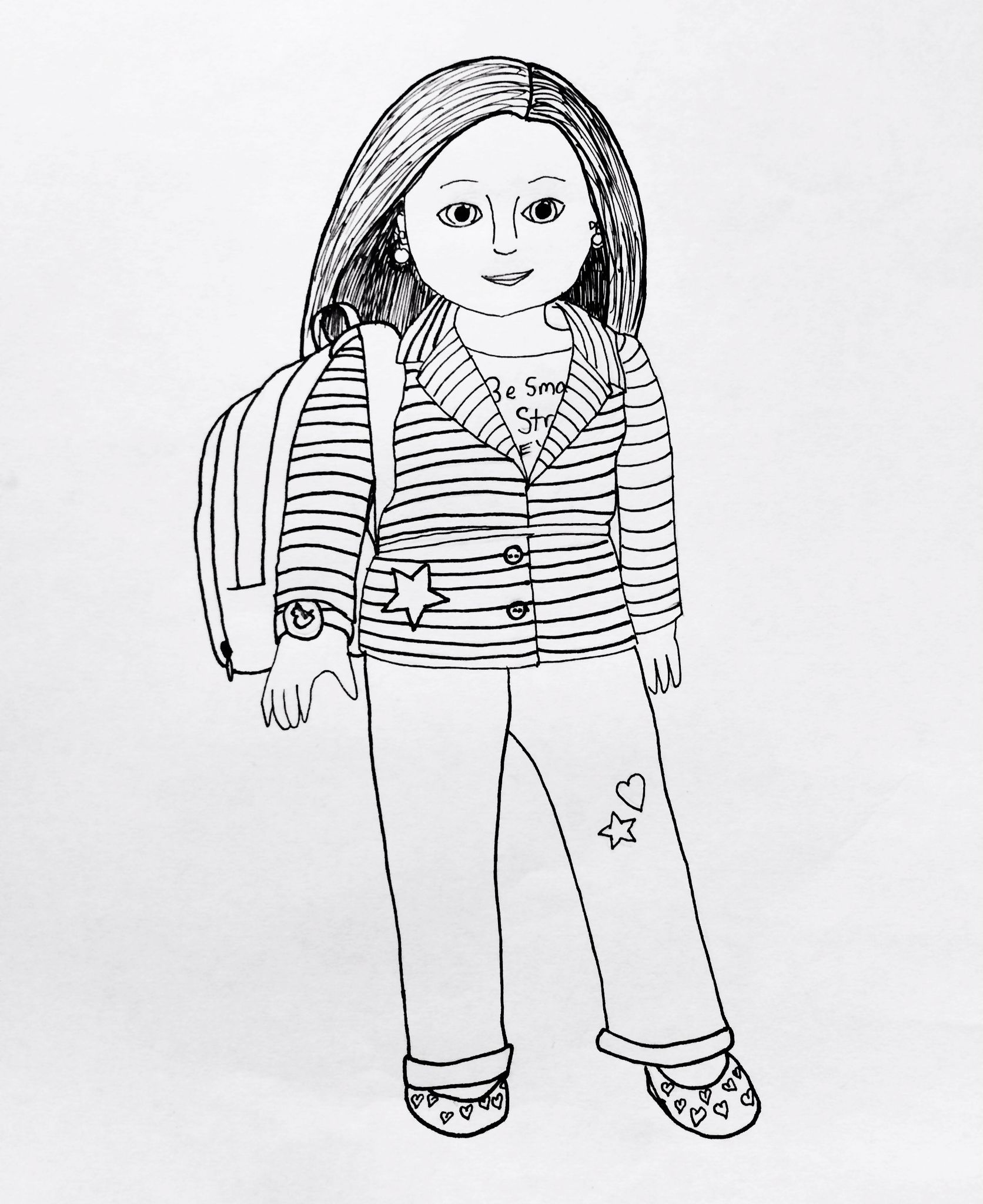 american girl printables | My American Girl coloring pages ...