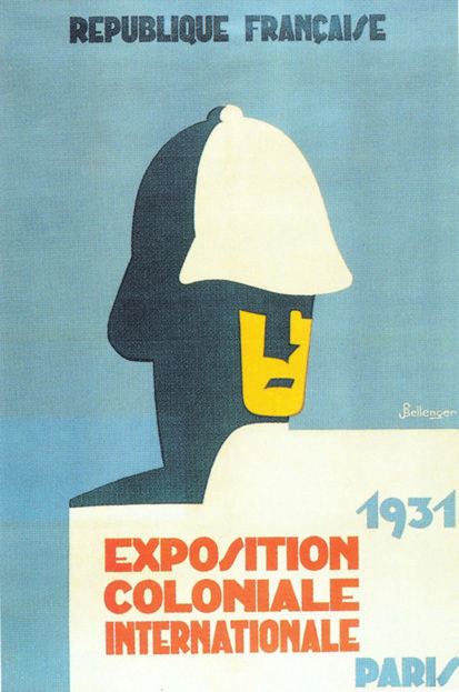 Exposition coloniale internationale, Paris, 1931, P. Bellenger, affiche, éd. Robert Lang, 1931 (MHC-BDIC)