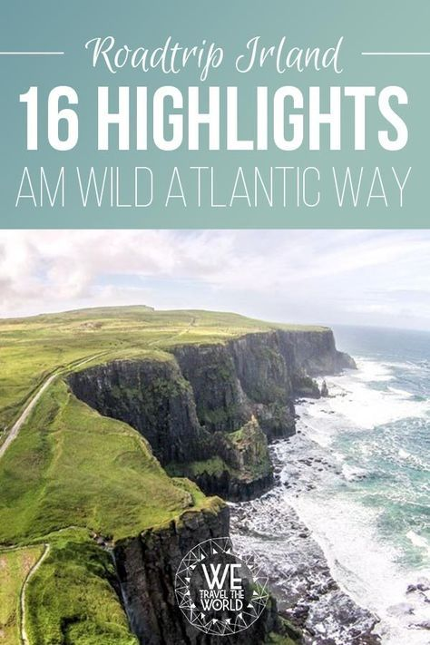 Photo of Wild Atlantic Way: 16 Highlights entlang Irlands spektakulärer Küstenstraße