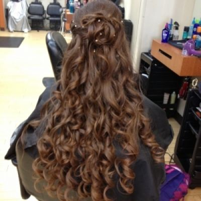 This was for a sweet 16 birthday. | Long hair styles, Hair ...