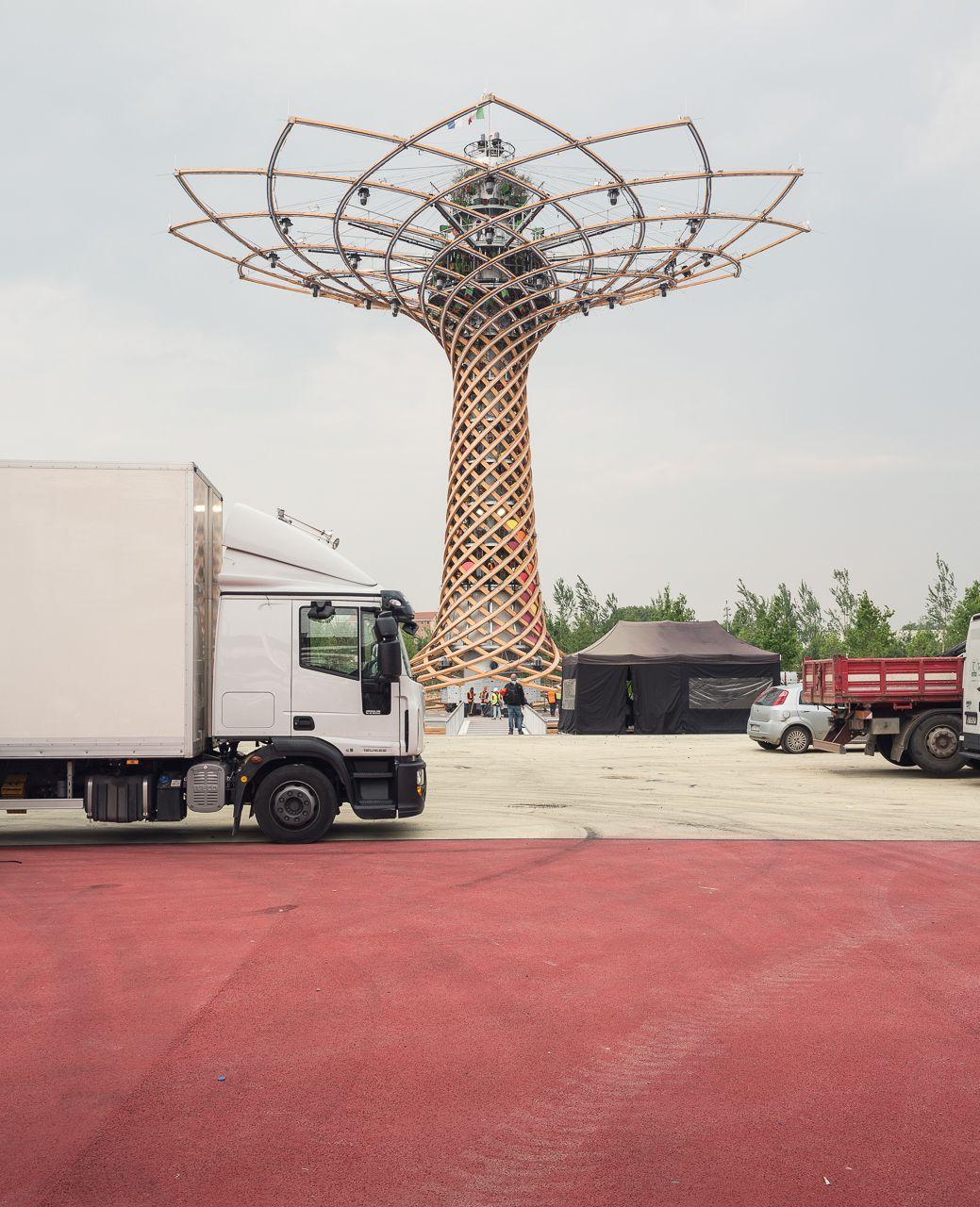 Ensaio fotográfico mostra a Expo Milão antes de ser oficialmente inaugurada