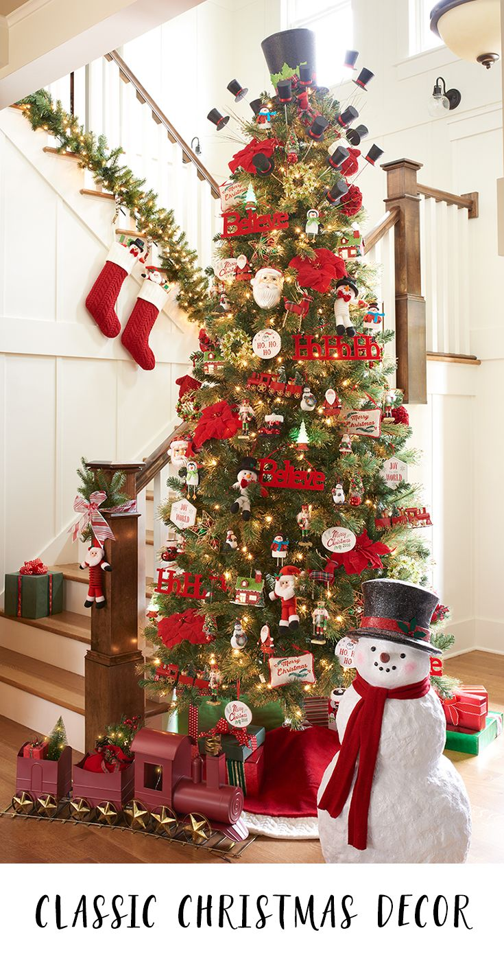 bring a touch of whimsy and magic to your home this holiday season with classic christmas and winter decorations the whole family will love