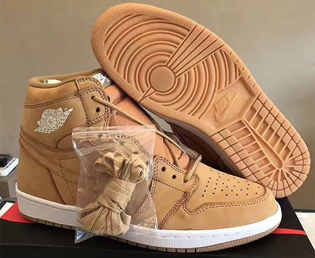 "27a972aada7 They made a ""Wheat"" Air Jordan 1. The tan nubuck look inspired by  Timberland boots that was a first a hit about three years ago on the ..."
