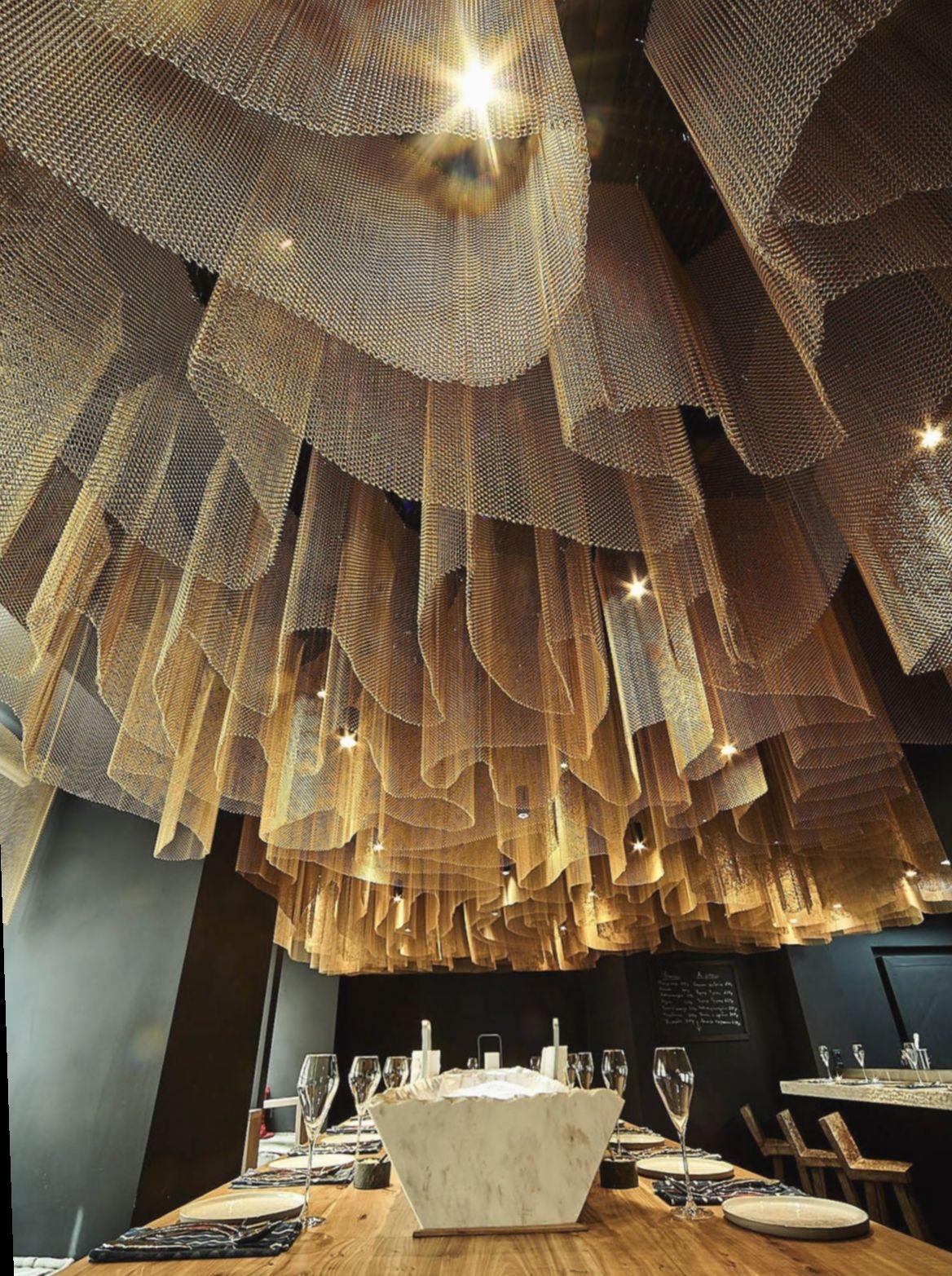 Dinner Table Design Round Insiderfood Thisisinsider Feedfeed In 2020 Lakberendezes Etterem Otthon