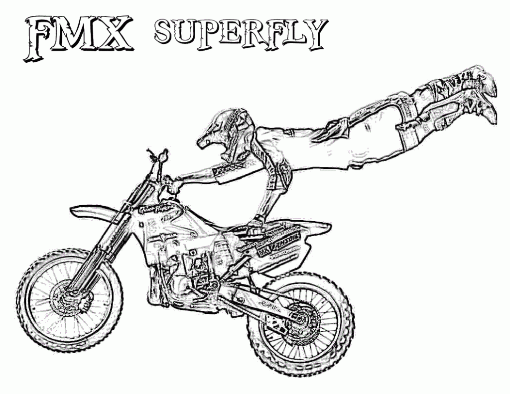 Dirt Bike Coloring Pages | Coloring pages for Boys | #35.gif - Best ...