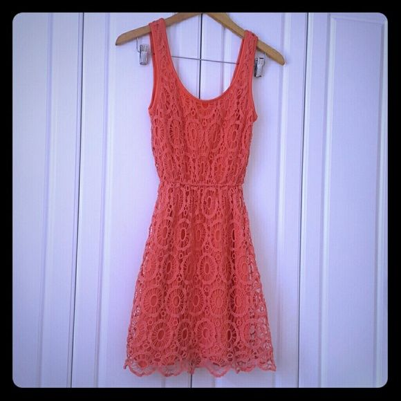 Lauren Conrad. Dress Coral dress Lauren Conrad  Dresses Mini