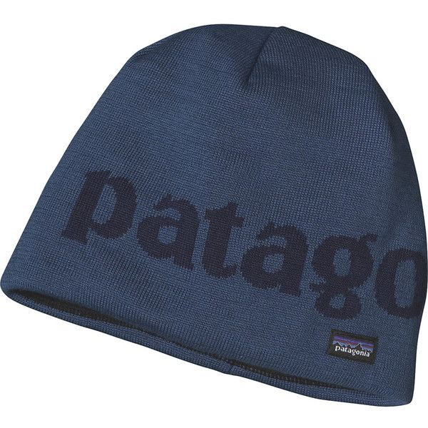 Patagonia Lined Beanie ($29) ❤ liked on Polyvore featuring accessories, hats, lined hat, beanie hats, knit hats, patagonia and lined beanie